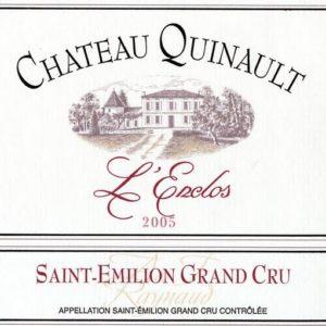 2003 Chateau Quinault L'Enclose Bordeaux Red Saint-Emilion
