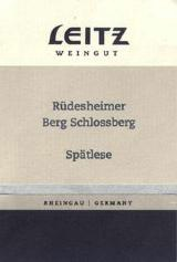 2004 Josef Leitz Rudesheimer Berg Schlossberg Riesling Spatlese