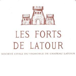2002 Chateau Les Forts de LATOUR Bordeaux Red Pauillac