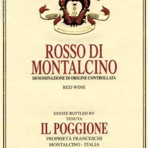 2013 IL POGGIONE Rosso di Montalcino Tuscany Italy