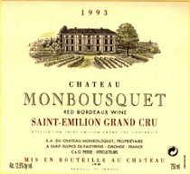 2001 Chateau Monbousquet Saint Emiliom Bordeaux Red